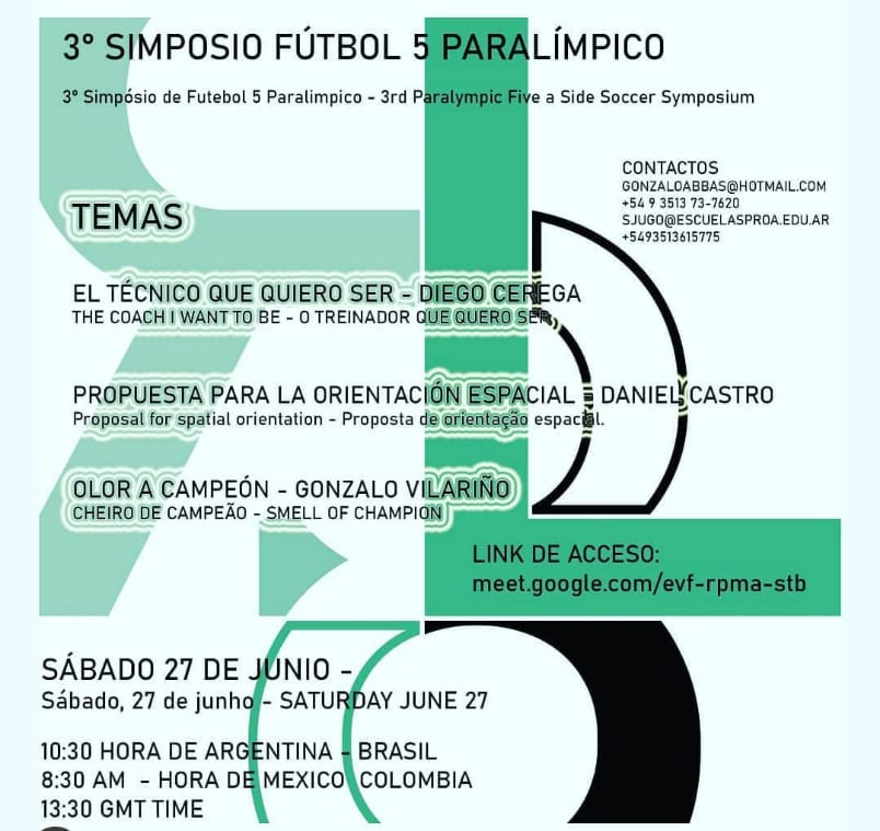 3er Simposio Internacional de Fútbol 5 Paralímpico