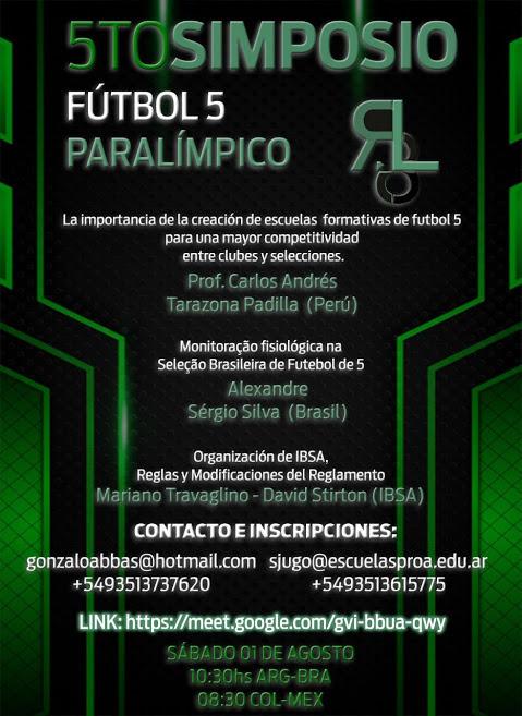 5to Simposio Internacional de Fútbol 5 Paralímpico