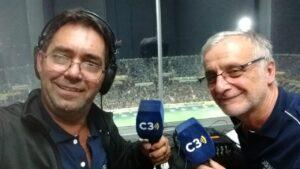 Foto de Gustavo Gutierrez, periodista deportivo de Cadena 3